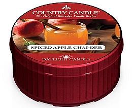 Духи, Парфюмерия, косметика Чайная свеча - Country Candle Spiced Apple Chai-der Daylight