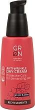 Духи, Парфюмерия, косметика Дневной крем для лица - GRN Rich Elements Grape & Olive Day Cream