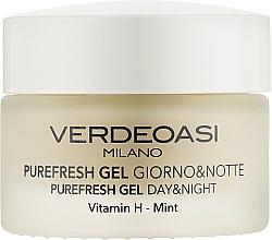 Духи, Парфюмерия, косметика Очищающий и увлажняющий дневной и ночной гель для лица - Verdeoasi Purefresh Gel Day&Night