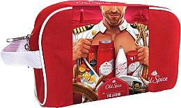 Духи, Парфюмерия, косметика Набор - Old Spice Original Travel Bag (sh/gel/50ml + ash/lot/100ml + deo/50ml + sh/gel/250ml + bag)