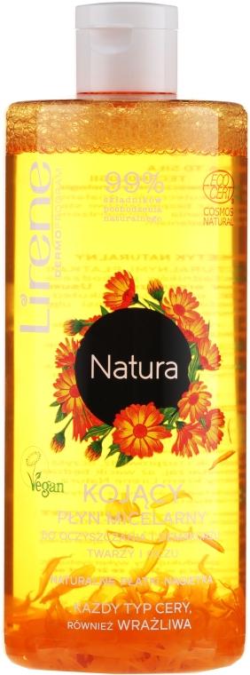 Мицеллярная жидкость для снятия макияжа - Lirene Natura Micellar Makeup Remover — фото N1