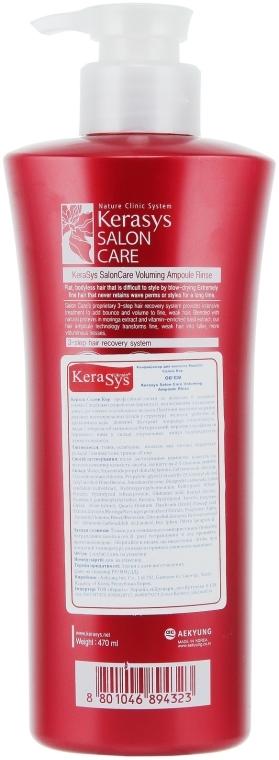 "Кондиционер ""Объем"" - KeraSys Hair Clinic Salon Care — фото N2"