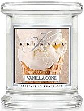 Духи, Парфюмерия, косметика Ароматическая свеча в стакане - Kringle Candle Vanilla Cone
