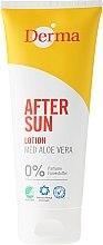 Духи, Парфюмерия, косметика Лосьон после загара с экстрактом алоэ - Derma After Sun Lotion Med Aloe Vera