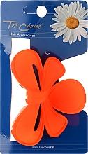 Духи, Парфюмерия, косметика Заколка для волос 24191, оранжевая - Top Choice