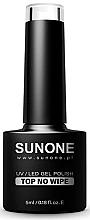 Духи, Парфюмерия, косметика Топ для гель-лака без липкого слоя - Sunone UV/LED Gel Polish Top No Wipe
