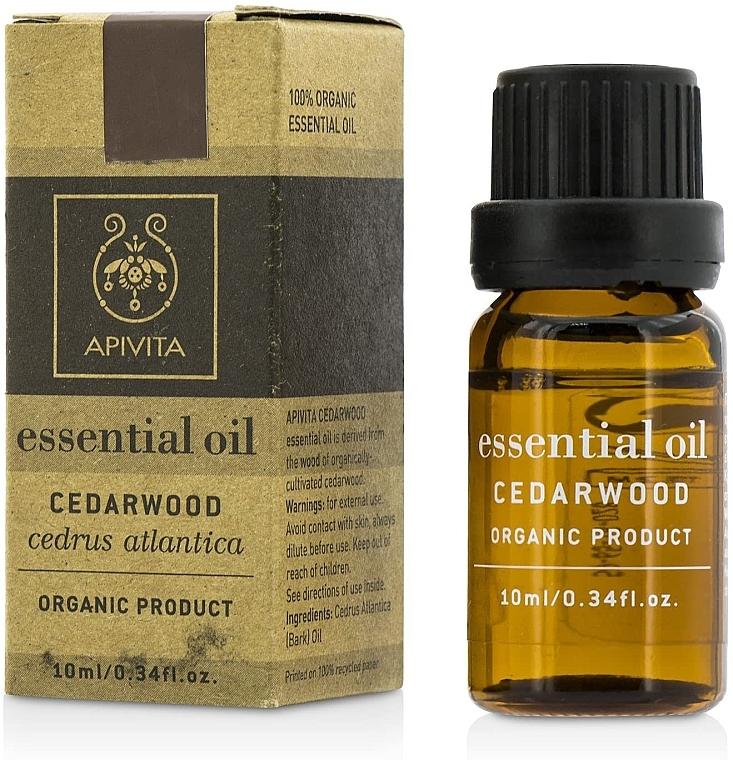 "Эфирное масло ""Кедр"" - Apivita Aromatherapy Organic Cedar Oil — фото N1"