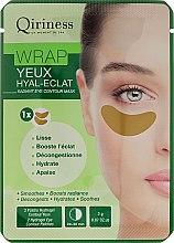 Духи, Парфюмерия, косметика Гидрогелевые омолаживающие патчи для контура глаз - Qiriness Wrap Yeux Hyal-Eclat Radiant Eye Patches