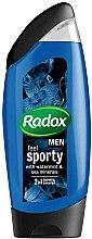 Духи, Парфюмерия, косметика Шампунь-гель для душа 2в1 - Radox Men Feel Sporty 2in1 Shower Gel
