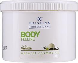 "Скраб для тела ""Ваниль"" - Hristina Professional Vanilla Body Peeling — фото N1"