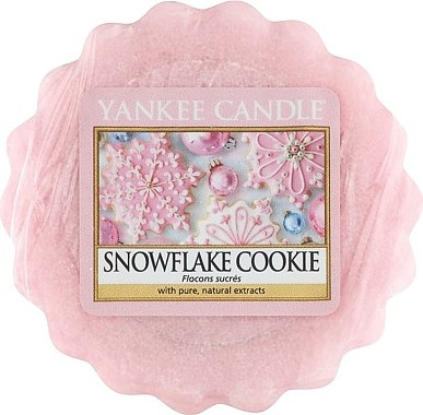Ароматический воск - Yankee Candle Snowflake Cookie Tarts Wax Melts — фото N1