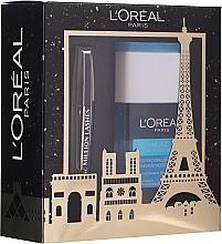 Духи, Парфюмерия, косметика Набор - L'oreal Paris Make-up Set (mascara/10.7ml + demaquillant/125ml)