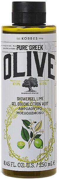 "Гель для душа ""Олива и лайм"" - Korres Pure Greek Olive Lime Shower Gel — фото N1"