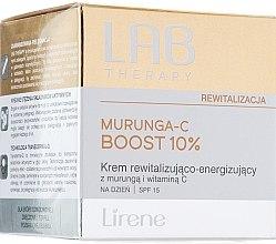 Духи, Парфюмерия, косметика Восстанавливающий дневной крем для лица - Lirene Lab Therapy Revitalization Murunga-C Boost 10% SPF15