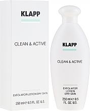 Духи, Парфюмерия, косметика Эксфолиатор для сухой кожи - Klapp Clean & Active Exfoliator Dry Skin