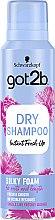 "Духи, Парфюмерия, косметика Сухой шампунь-мусс ""Шелковистый объем"" - Schwarzkopf Got2b Fresh it Up! Dry Shampoo Silky Foam"