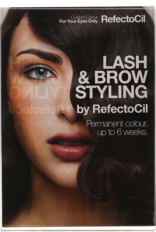 Набор для окрашивания бровей и ресниц - RefectoCil Professional Lash & Brow Styling Bar — фото N27