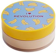 Духи, Парфюмерия, косметика Рассыпчатая пудра для лица банановая - I Heart Revolution Loose Baking Powder Banana