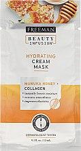 Духи, Парфюмерия, косметика Маска для лица - Freeman Beauty Infusion Hydrating Cream Mask Manuka Honey + Collagen (мини)