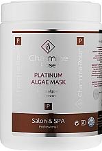 Духи, Парфюмерия, косметика Альгинатная маска для лица c платиной - Charmine Rose Platinum Algae Mask