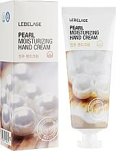Духи, Парфюмерия, косметика Осветляющий крем для рук - Lebelage Pearl Moisturizing Hand Cream