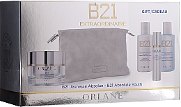 Духи, Парфюмерия, косметика Набор - Orlane B21 Extraordinaire Absolute Youth Set (f/cr/50 ml + lot/50ml + cleanser/50ml + ser/7.5 ml + bag)