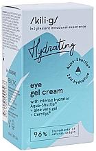 Духи, Парфюмерия, косметика Интенсивный увлажняющий гелиевый крем для глаз - Kili-g Hydrating Eye Gel Cream