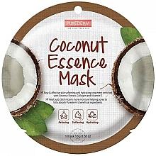 Духи, Парфюмерия, косметика Маска для лица с экстрактом кокоса - Purederm Coconut Essence Mask