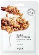 "Духи, Парфюмерия, косметика Маска для ежедневного применения ""Коллаген Натто"" - Yadah Daily Green Mask Natto Collagen"