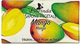 """Духи, Парфюмерия, косметика Мыло натуральное """"Манго"""" - Florinda Mango Natural Soap"""