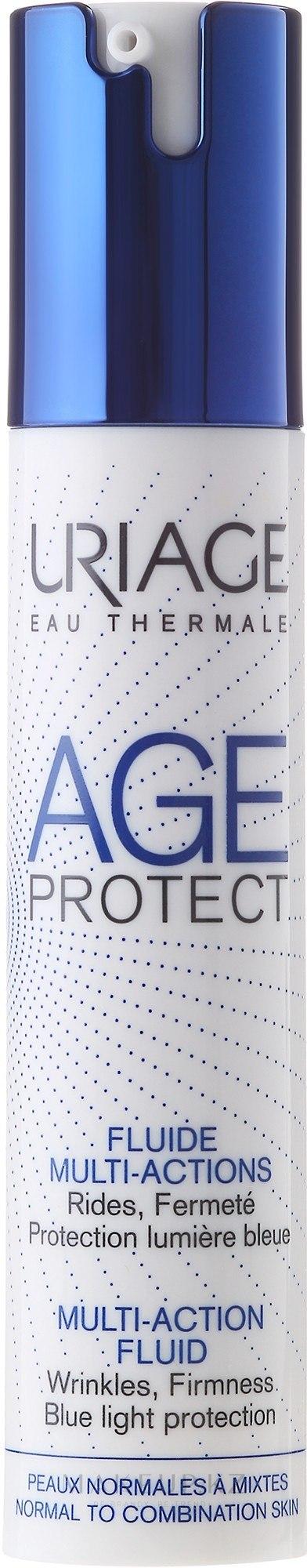 Эмульсия для лица против морщин для нормальной и комбинированной кожи - Uriage Age Protect Multi-Action Fluid — фото 40 ml
