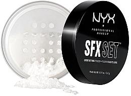 Духи, Парфюмерия, косметика Финишная пудра - NYX SFX Setting Powder