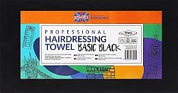 Духи, Парфюмерия, косметика Полотенца одноразовые, 50 шт., черные - Ronney Professional Hairdressing Towel Basic Black