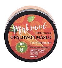 Духи, Парфюмерия, косметика Солнцезащитный крем - Vivaco Bio Carrot Suntan Butter SPF 6