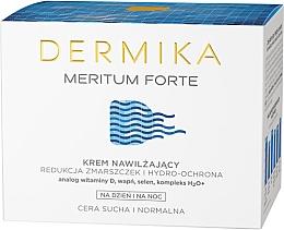Духи, Парфюмерия, косметика Увлажняющий крем для лица - Dermika Meritum Forte Face Cream