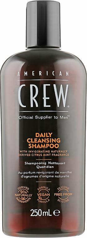 Шампунь для ежедневного использования - American Crew Daily Cleansing Shampoo — фото N1