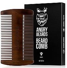 Духи, Парфюмерия, косметика Деревянный гребень для бороды - Angry Beards Beard Comb
