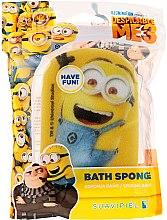 """Духи, Парфюмерия, косметика Мочалка банная детская """"Миньйоны"""", счастливый миньйон - Suavipiel Minnioins Bath Sponge"""
