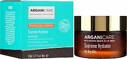 Духи, Парфюмерия, косметика Увлажняющий крем для лица - Arganicare Shea Butter Supreme Hydrator
