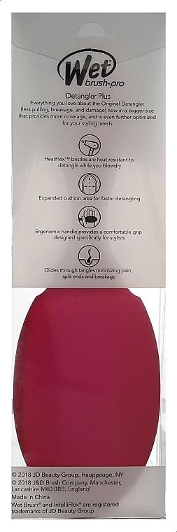 Расческа для спутанных волос, розовая - Wet Brush Pro Detangler Plus Pink — фото N4