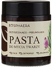 Духи, Парфюмерия, косметика Очищающий пилинг паста для лица с зеленой водорослью - Bosphaera