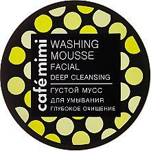"""Духи, Парфюмерия, косметика Густой мусс для умывания """"Глубокое очищение"""" - Cafe Mimi Washing Mousse Facial Deep Cleaning"""