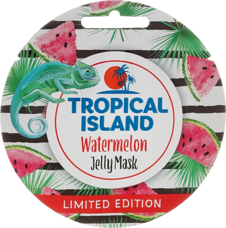 "Маска для лица ""Арбуз"" - Marion Tropical Island Watermelon Jelly Mask — фото N1"