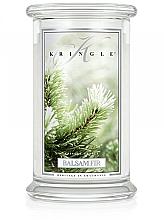 Духи, Парфюмерия, косметика Ароматическая свеча в банке - Kringle Candle Balsam Fir