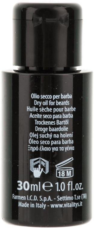 Масло для бороды - Vitality's For Man Beard Oil — фото N2