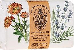 "Духи, Парфюмерия, косметика Мыло ""Лаванда и календула"" - La Florentina Lavender Marigold Bath Soap"