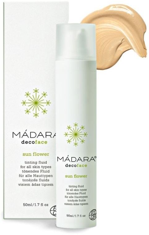 "Тонирующий флюид ""Цветок солнца"" - Madara Cosmetics Sun Flower Tinting Fluid — фото N1"