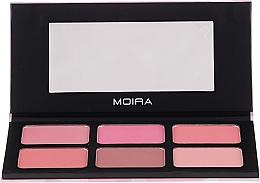 Духи, Парфюмерия, косметика Палетка румян для лица - Moira Blossom & Adore Blush Palette