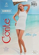 Духи, Парфюмерия, косметика Колготки для женщин «Summer» 8 Den, natural - Conte