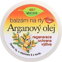 """Духи, Парфюмерия, косметика Бальзам для губ """"Аргановое масло"""" - Bione Cosmetics Argan Oil Lip Balm"""